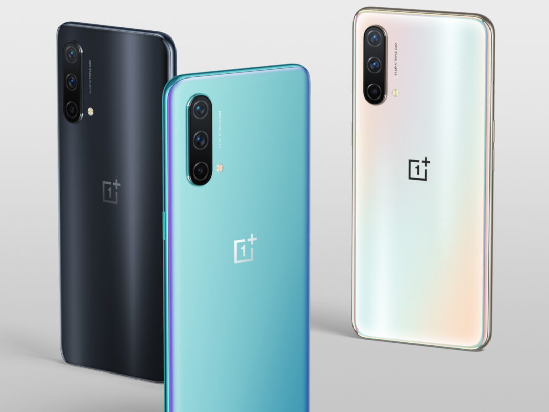 Das OnePlus Nord CE 5G gibt es in drei Farben.