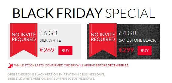 OnePlus One Black-Friday-Sale