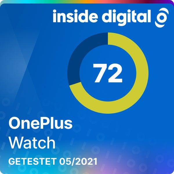 OnePlus Watch Testsiegel 72 Prozent