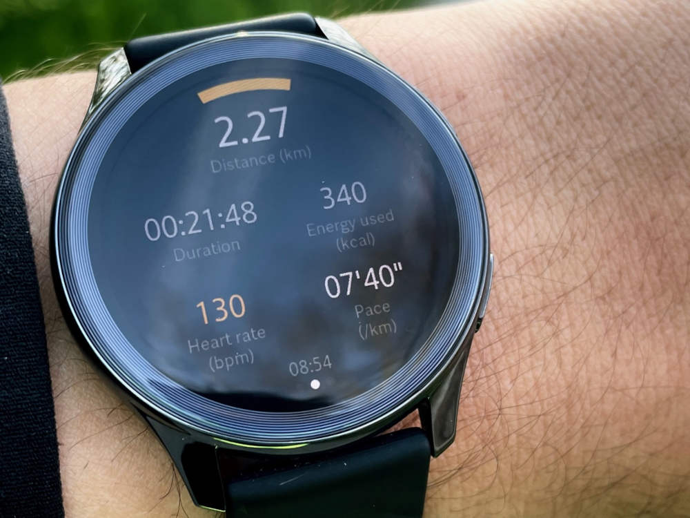 OnePlus Watch Trainingsmodus