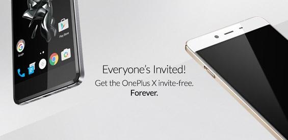 Das OnePlus X ist von nun an ohne Invite erhältlich