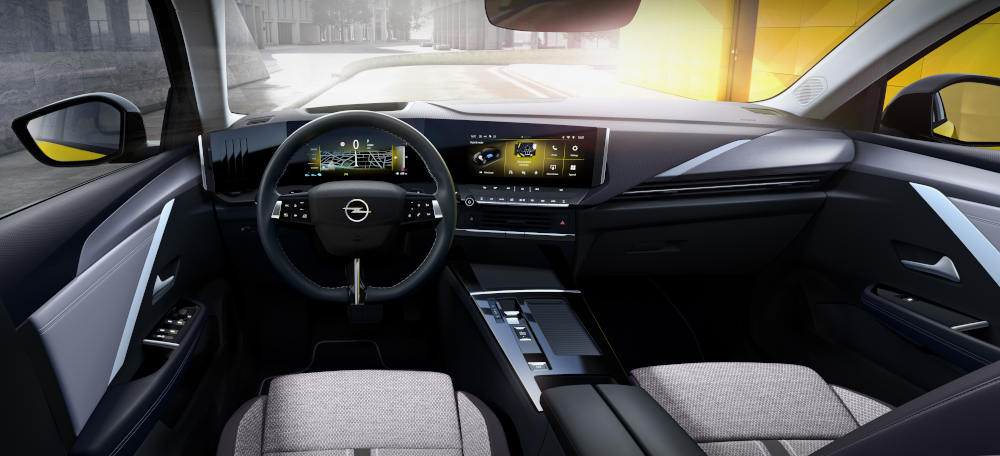 Opel Astra 2022 Innenraum