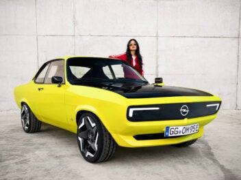 Opel Manta GSe Vorderseite