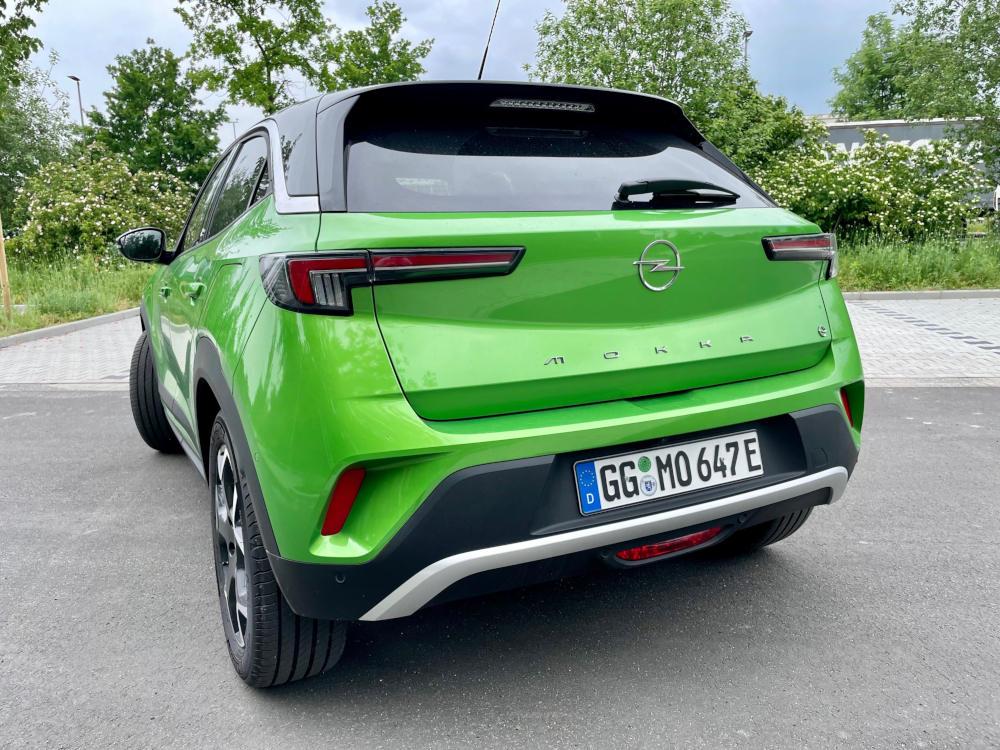 Opel Mokka-e Heck