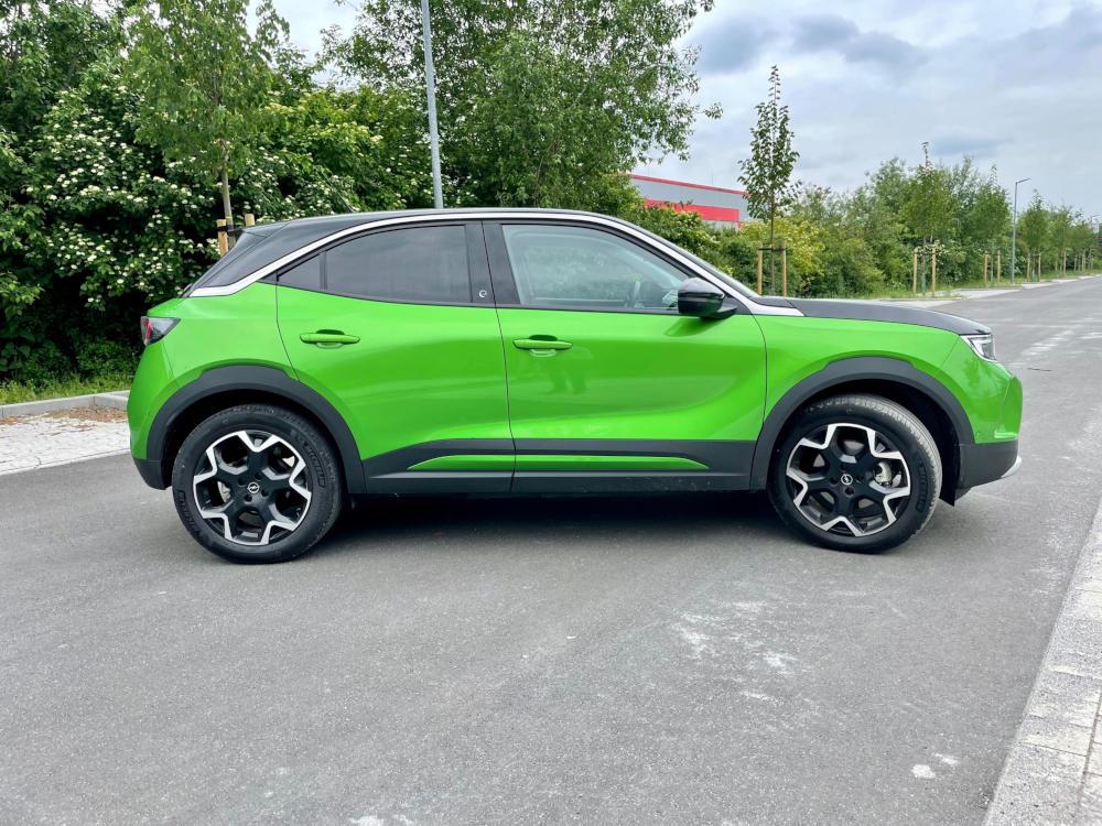 Opel Mokka-e Seitenansicht