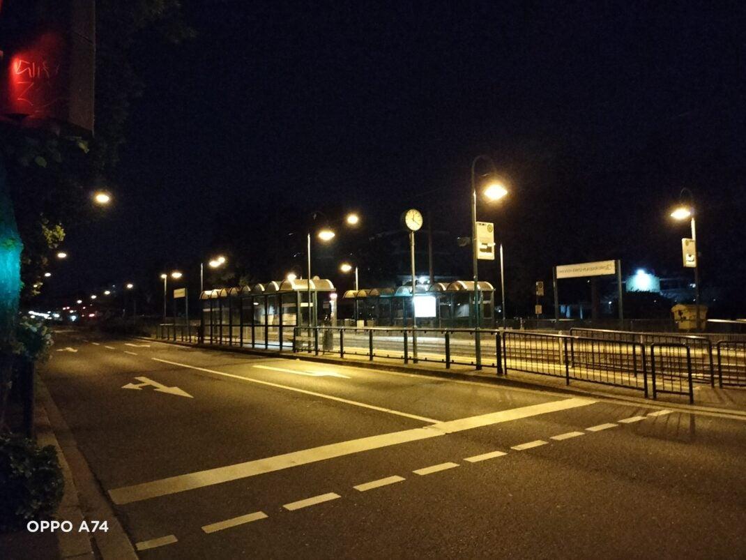Ein Foto bei Nacht