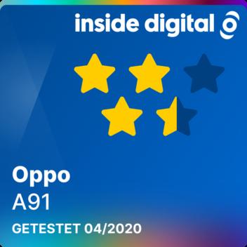 Oppo A91 Testsiegel