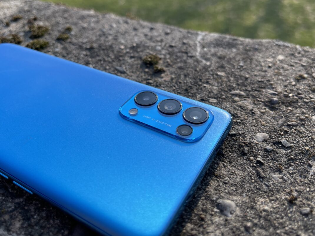 Das Kamera-Modul des Oppo Find X3 Lite im Fokus