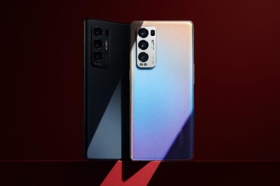 Beide Farben des Oppo Find X3 Neo