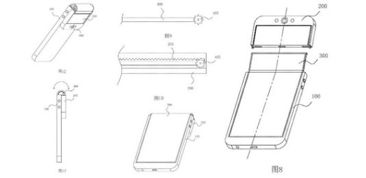 Oppo Patent: Faltbares Smartphone