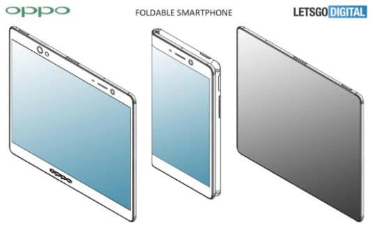 Oppo Patent faltbares Tablet