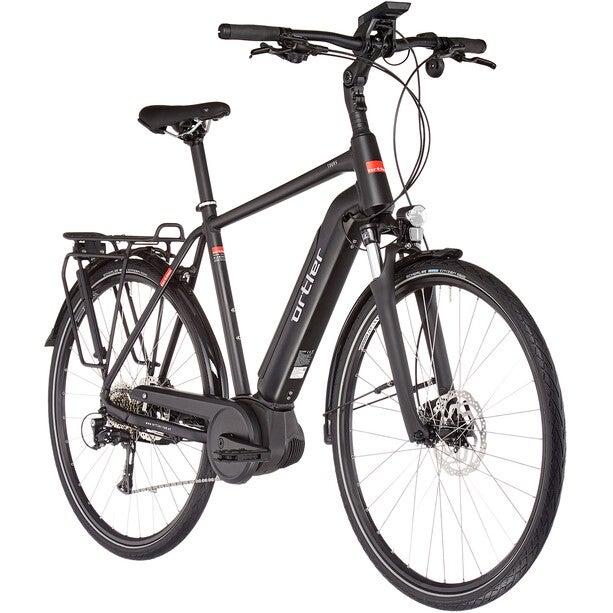 Das E-Bike Ortler Tours Powertube Nyon Gen2 Diamant vor weißem Hintergrund.