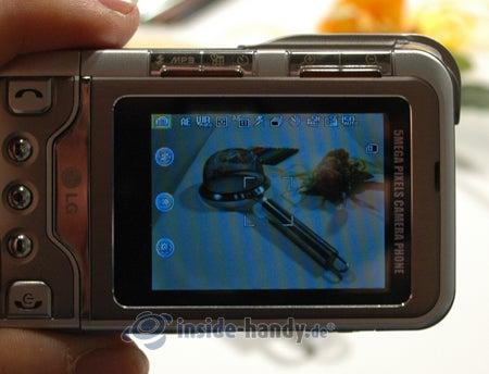 P900 - beim Fotografieren
