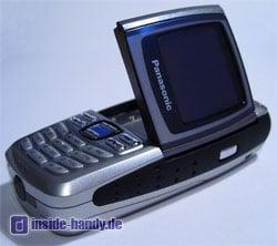 Panasonic X300 - Display aufgeklappt