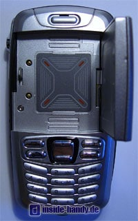 Panasonic X300 - Innenansicht Display aufgeklappt