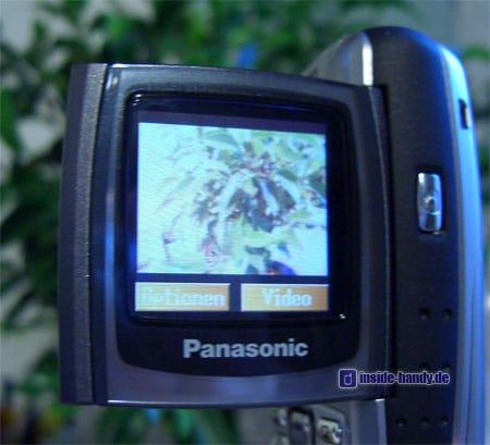 Panasonic X300 - Kamerafunktion