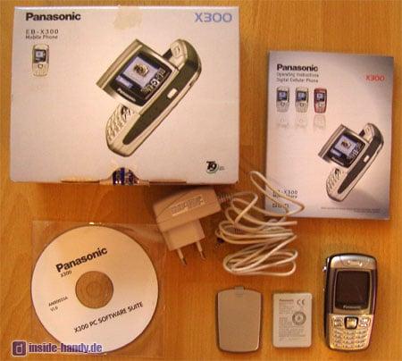 Panasonic X300 - Lieferumfang