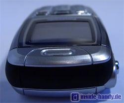 Panasonic X300 - Oberseite