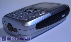 Panasonic X300 - Seitenansicht und Unterseite