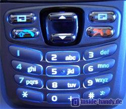 Panasonic X300 - Tastaturbeleuchtung