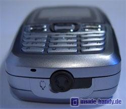 Panasonic X300 - Unterseite