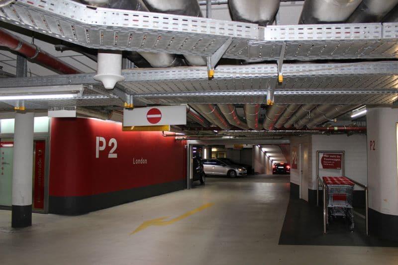 Parkhaus der Europa-Passage: Die Mobilfunkantenne