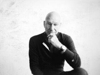 Sir Patrick Stewart alias Jean-Luc Picard
