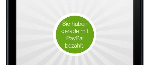 Paypal zeigt mit