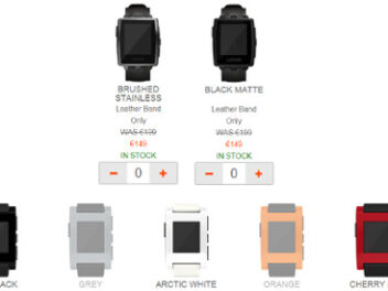 Pebble Smartwatch Angebote