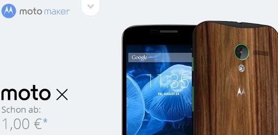 Personalisiertes inside-handy-Moto X mit dem Motorola Moto Maker