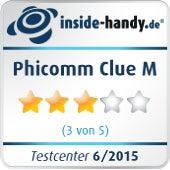 Phicomm Clue M im inside-handy.de Testcenter: 3 von 5 Sternen