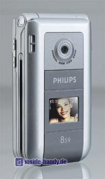 Philips 859 Datenblatt - Foto des Philips 859