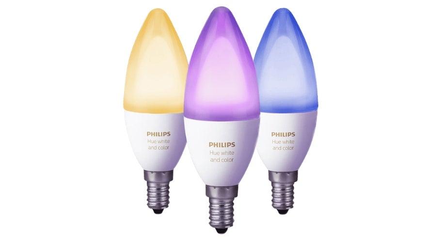 Philips Hue Leuchten mit E14-Gewinde