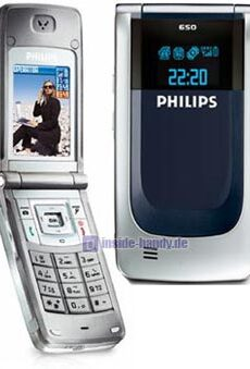 Philips Xenium 650 Datenblatt - Foto des Philips Xenium 650