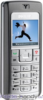 Philips Xenium 9@98 Datenblatt - Foto des Philips Xenium 9@98