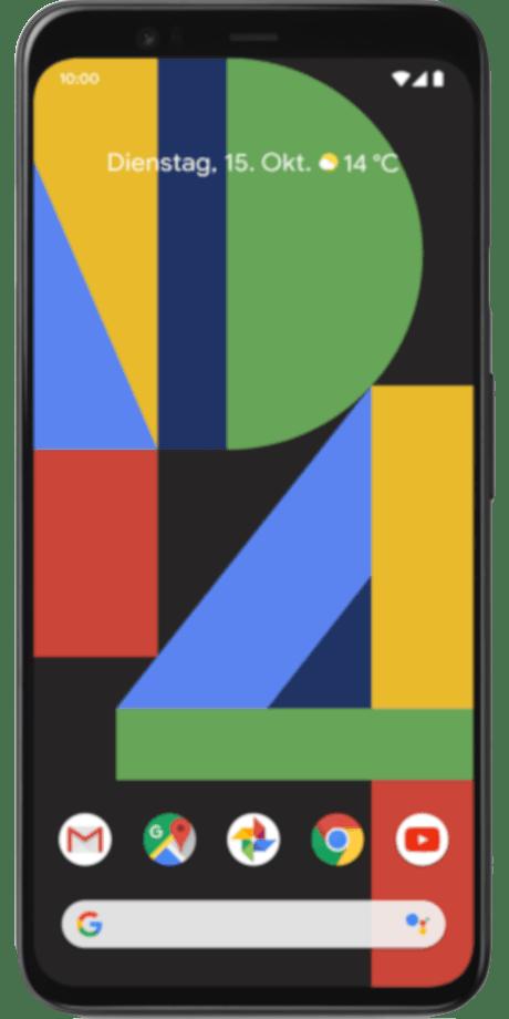 Google Pixel 4 Datenbank