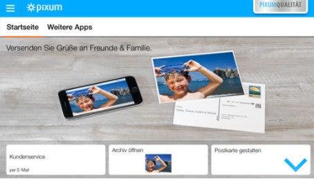 Pixum Postkarten App