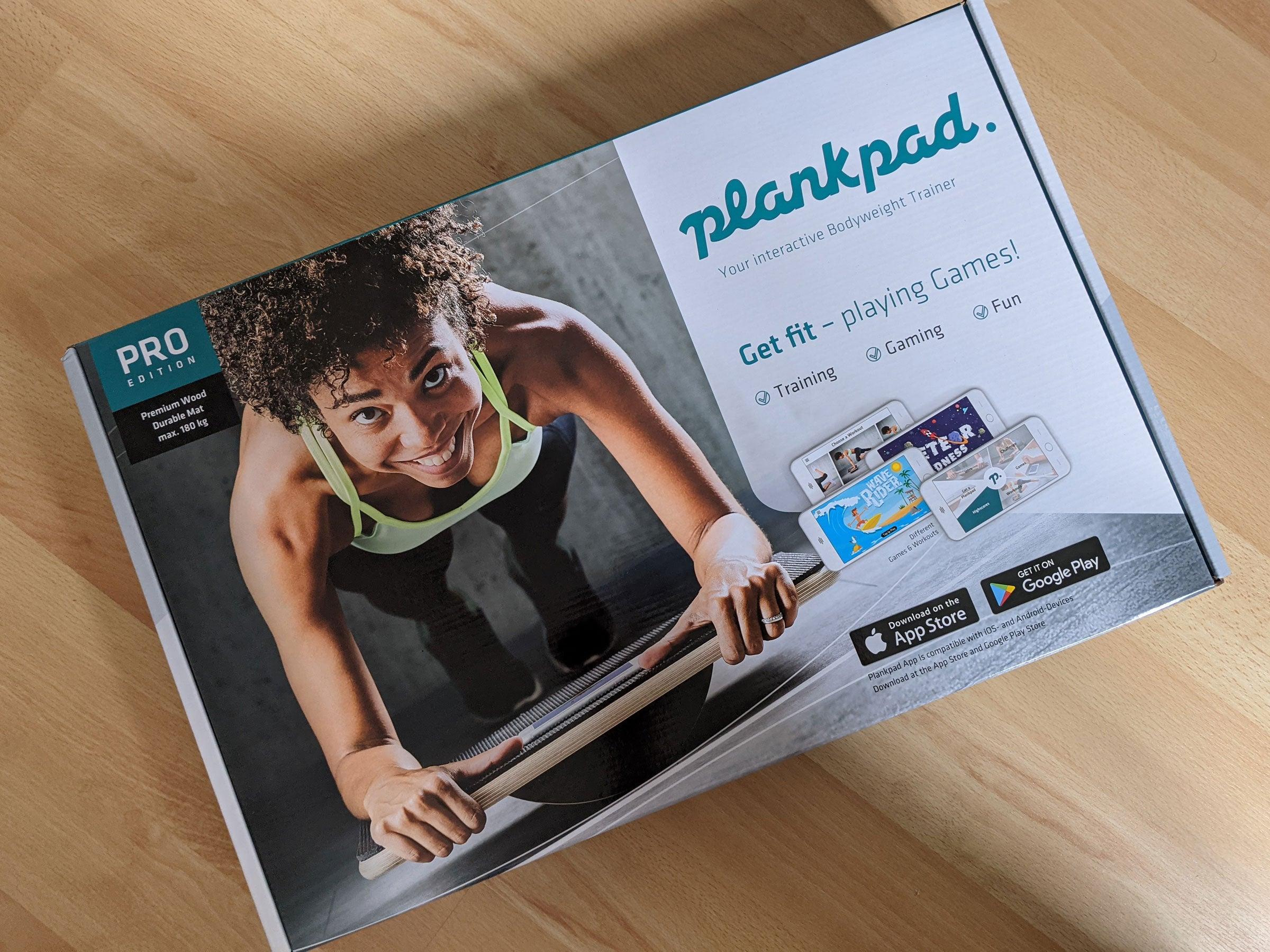 Verpackung des Plankpad