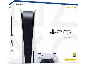 Verpackung der PlayStation 5 von Sony