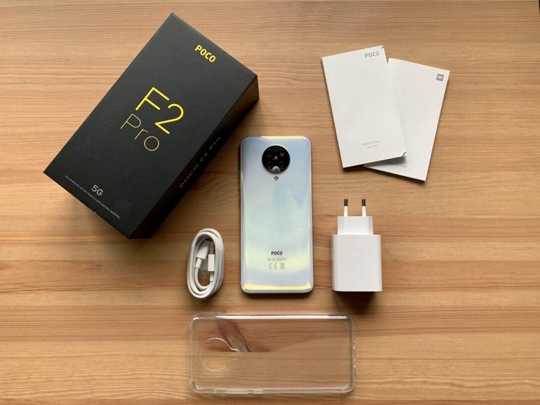Poco F2 Pro Lieferumfang