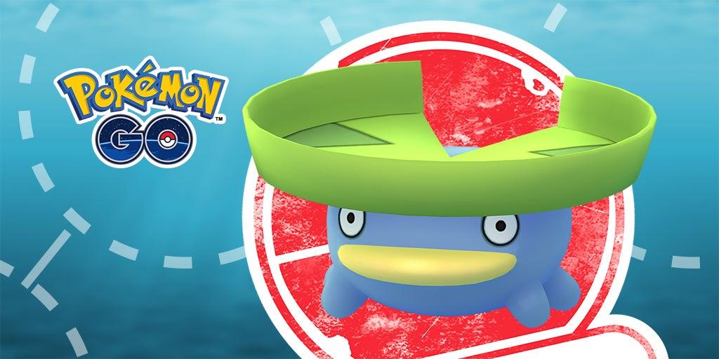 Ein Bild des Pokémon Loturzel im Rahmen eines Forschungsevents in Pokémon Go