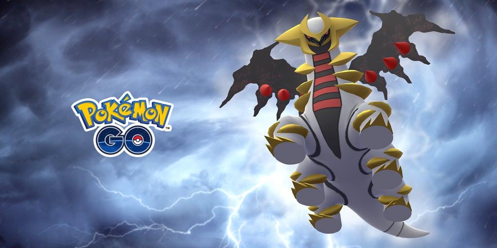 Der Raidboss Gioratina aus Pokémon Go