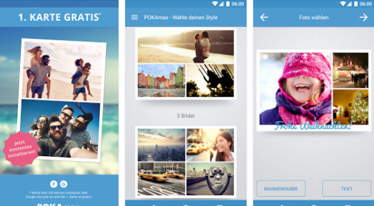 PokaMax Postkarten App