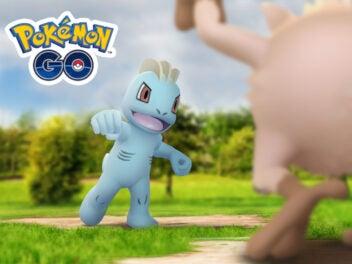 Das Event-Bild von Pokémon Gos Kampf-Showdown