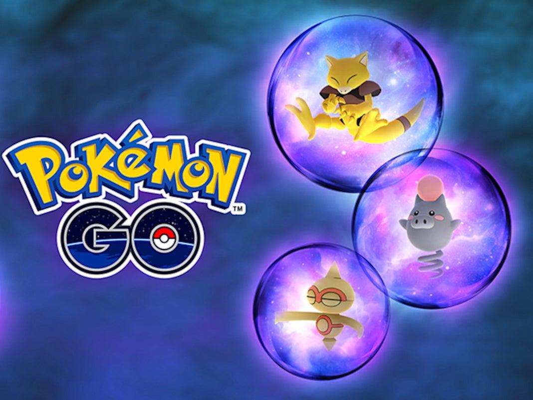Pokémon Abra, Spoink und Puppance