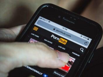 Pornhub auf dem Handy