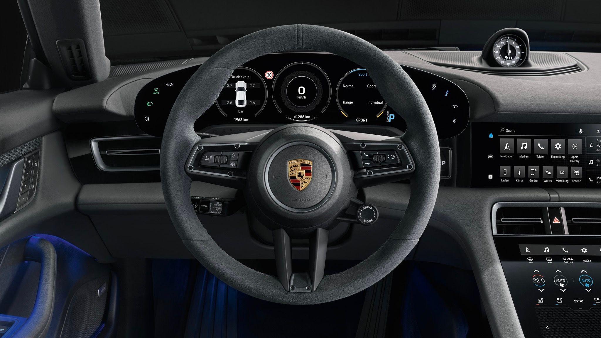 Porsche Taycan 4S wird ab 105 607 Euro kosten