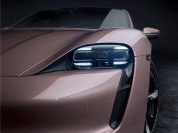 Porsche Taycan Heckantrieb
