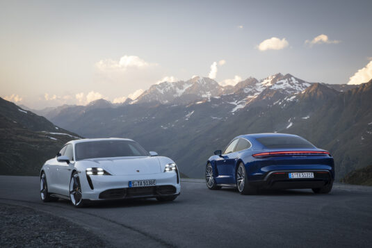 Porsche Taycan Turbo und Turbo S