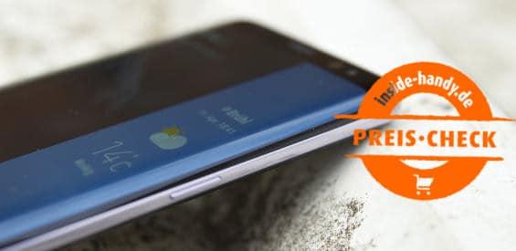 Preischeck Samsung Galaxy S8